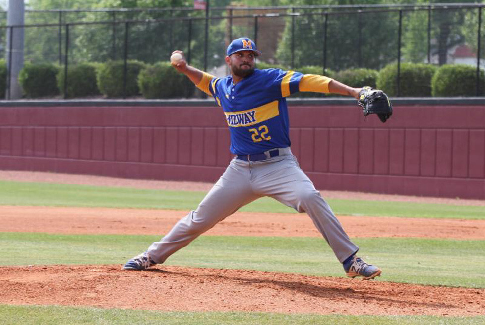 SENIOR RIGHT-HANDER Hector Quinones was selected in the 2017 Major League Baseball First-Year Draft by the Pittsburgh Pirates in the 32nd round. (Photo courtesy of Midway Univ. Athletics)