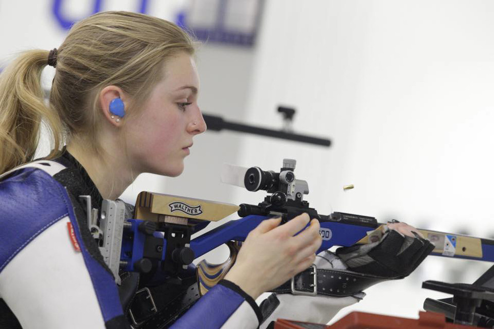 HANNA CARR won the USA Shooting Women's and Junior National titles on Saturday, July 1. (Photo submitted)