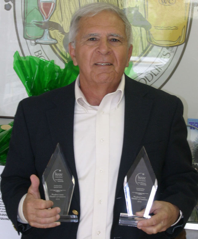DON VIZI, CEO of the Woodford County Chamber of Commerce. (Photo by John McGary)