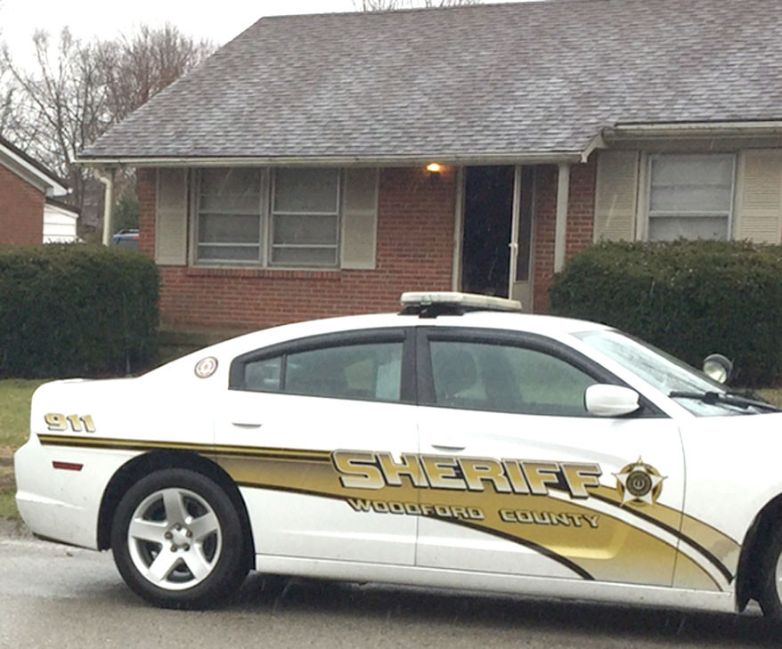 VERSAILLES POLICE made five arrests on Friday, Feb. 16 in connection with an ongoing investigation into drug trafficking. The arrests were made after police executed search warrants at three locations: Minary Avenue, Nancy Street and Blackhawk Circle, according to Versailles Police Lt. Michael Fortney. (Versailles Police Department photo)