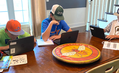 Challenges of virtual learning frustrates mom, her sons