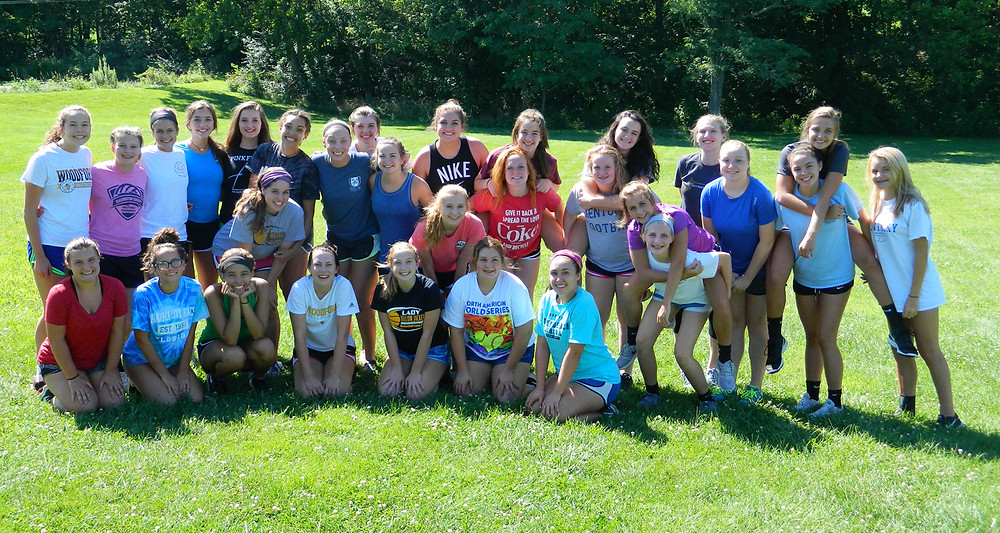 THE WOODFORD COUNTY HIGH SCHOOL Lady Jackets volleyball team prepares for its season, which begins Aug. 15. (Photo submitted)