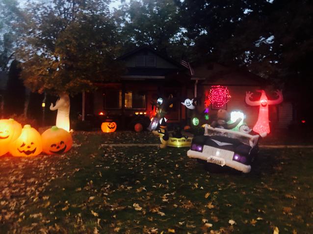 Midway Halloween contest winner