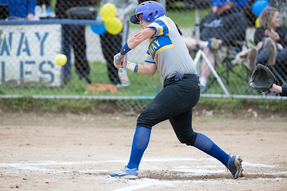 KELSEY GRAVENS, a junior on the Midway University softball team, capped off her 2017 postseason honors after she was named to the NAIA All-American Second Team. (Photo courtesy of Midway Athletics)