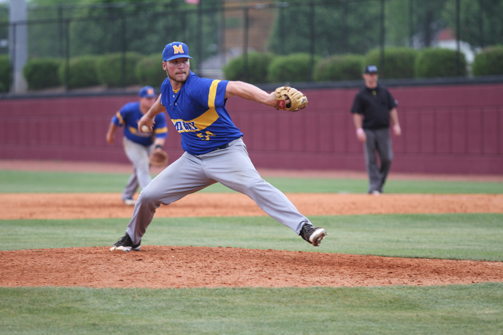 JAKE MCCOY, a senior right-hander for the Midway University baseball team, has signed a deal with the Evansville Otters in the Frontier League. (Midway University photo)