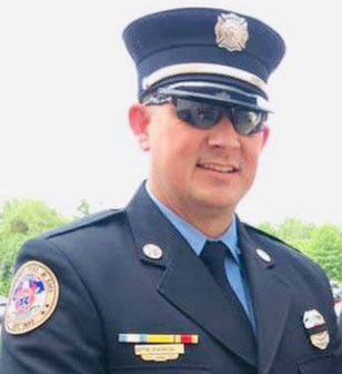 T.A. RANKIN was unanimous confirmed by the Versailles City Council Tuesday as the city's new fire chief. Rankin grew up in Woodford County and still lives here. (Photo submitted)