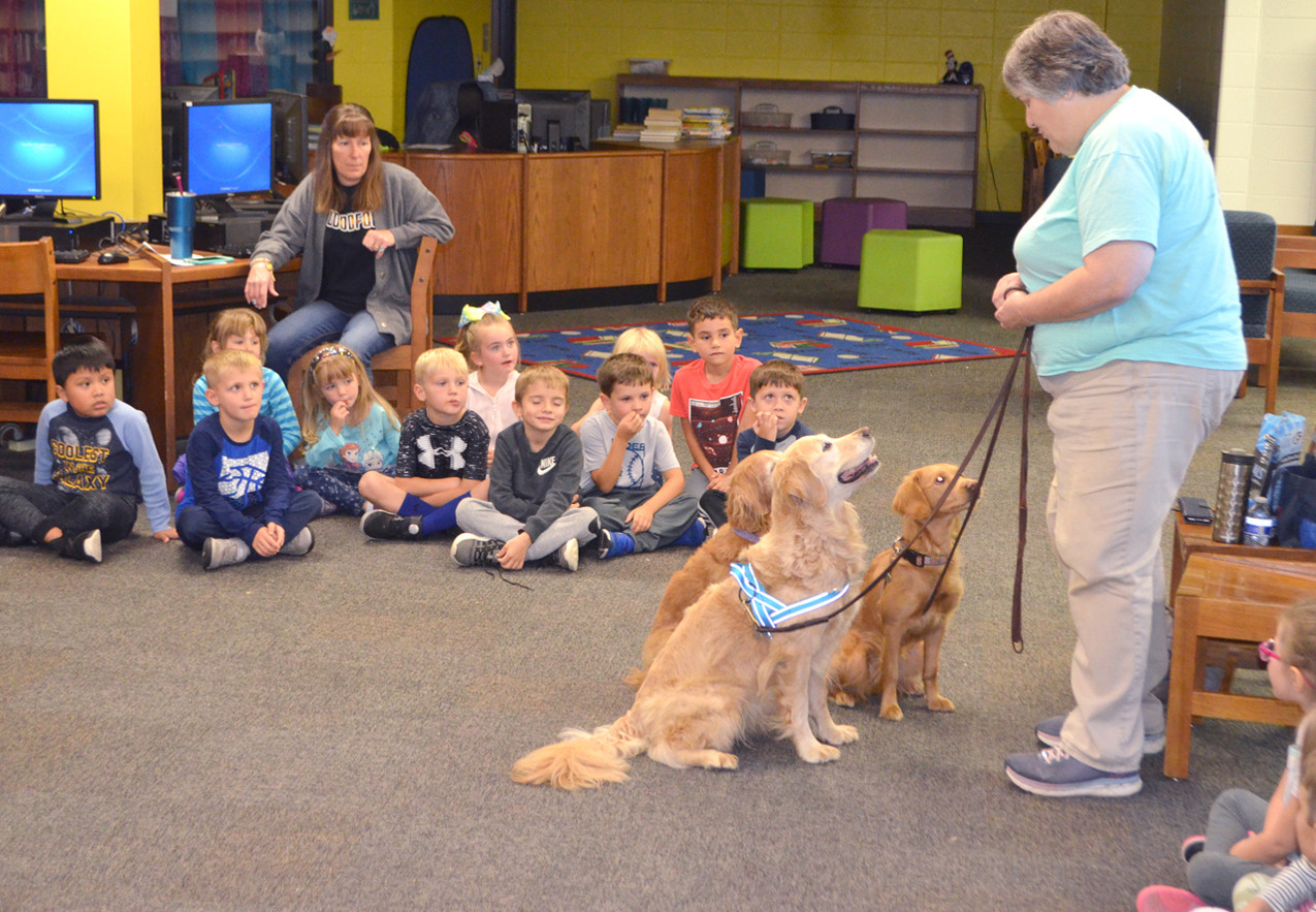 Comfort dogs and kids