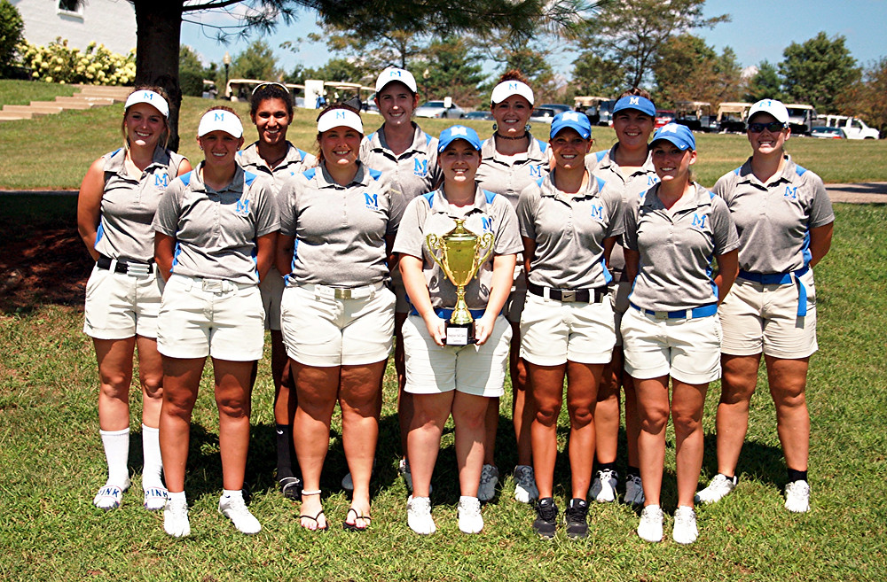 THE MIDWAY UNIVERSITY women's golf team picked up right where it left off in the 2015-16 season. After winning the conference title last spring, the Eagles won their first event of the 2016-17 season, the Bluegrass Fall Invitational, which was played at Cherry Blossom Golf and Country Club on Monday and Tuesday, Aug. 29 and 30. (Photo courtesy Midway University Athletics)