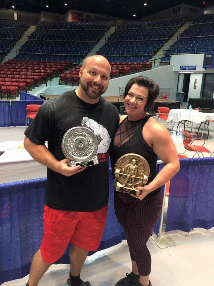 VERSAILLES COUPLE ANTHONY AND EMILY PERNICE will compete in the Amateur Strongman World Championship in March. (Photo submitted)