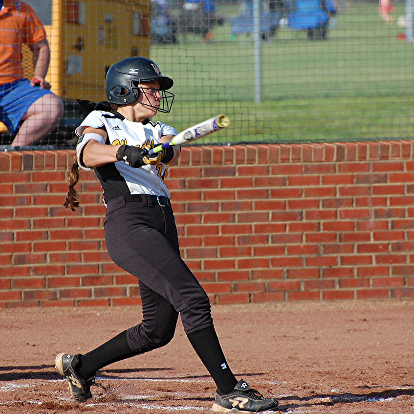 ARIEL DAILEY is another player to watch on the WCHS softball team this year. The senior can play a number of positions and is one of the team's top hitters. (File photo by Rick Capone)