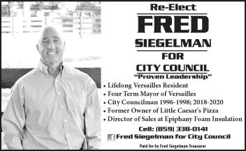 Fred Siegelman for City Council 10-8-2t.