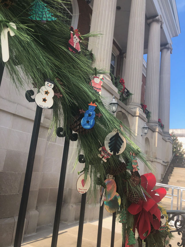 Courthouse ornaments