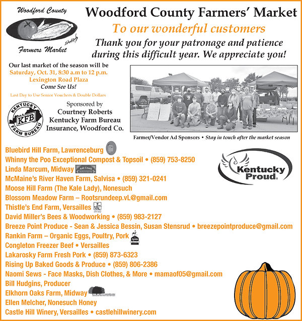Farmers' Market County Wide Half Page Sp