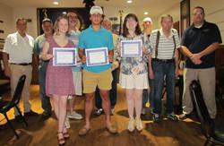 American Legion scholarship winners