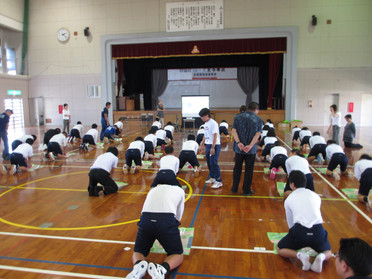 久松中学校2年生 PUSH講習会開催