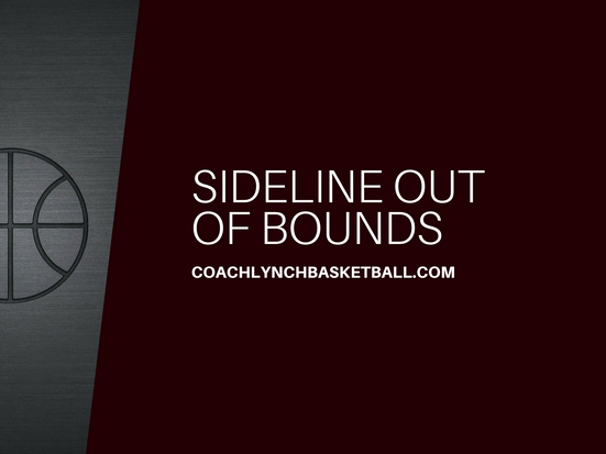 Special Situations: SLOB into Half Court Offense