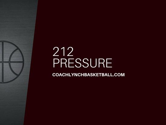 212 Pressure