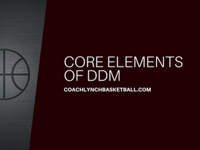 Core Elements of Dribble Drive Motion