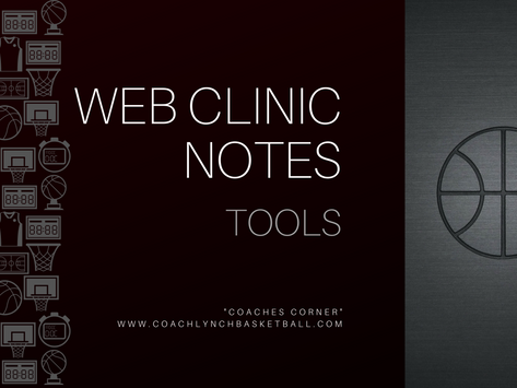 Web Clinic Notes
