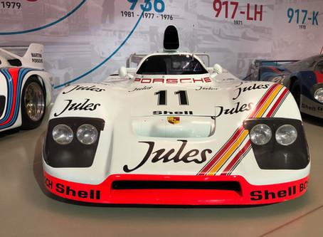Exposition temporaire Porsche at le Mans Musée des 24h