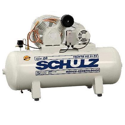 Compressor Médico Odontológico Schulz 250 litros - 20 pés