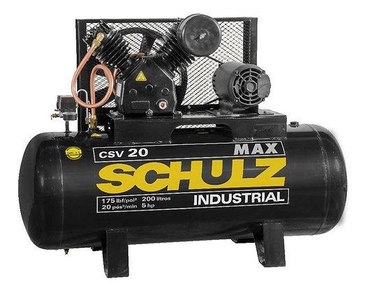 Compressor De Ar Max Csv 20/200 Mta Schulz