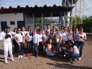 Grupo MIC de Minaçu recebe visita de estudantes