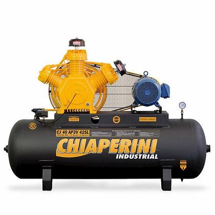 Compressor de ar alta pressão 40 pcm 425 litros - Chiaperini