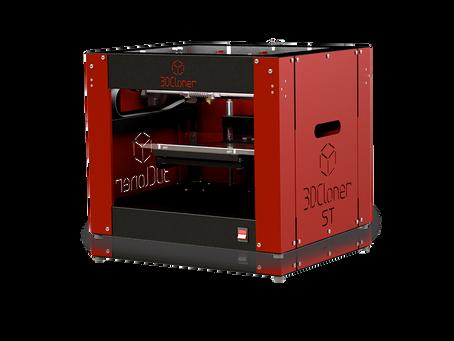 Por que optar pela impressora 3D Cloner?