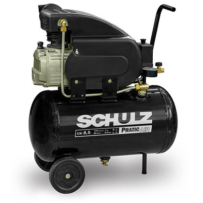 Motocompressor De Ar Csa 8.2/25l Csi 8,5/25l - 2 Hp - Pratic Air - Schulz