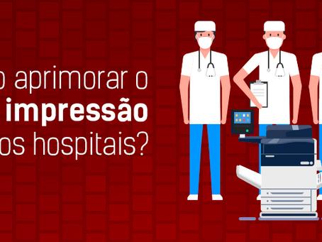 Serviços de impressão para hospitais.