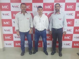 Visita do Gerente Geral da Sama Minerações Associadas no Grupo MIC.