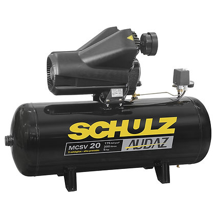 Compressor de Pistao Schulz Audaz MCSV 20 200