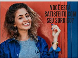 Você está satisfeito com seu sorriso?