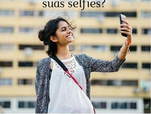 Você quer melhorar suas selfies?
