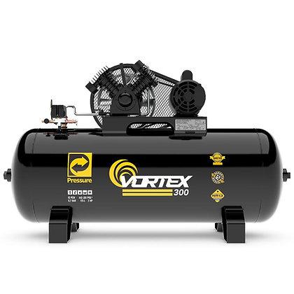 Compressor de Ar Vortex 300 Monofásico 10 Pés 175 Litros 110/220 V - PRESSURE