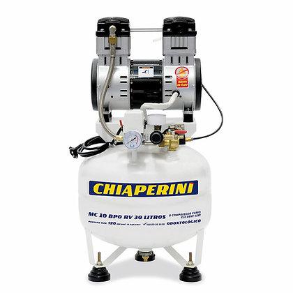 Compressor Odontológico 5.2 Pés 30 Litros 1 Hp MC 5 BPO RV 30L Chiaperini