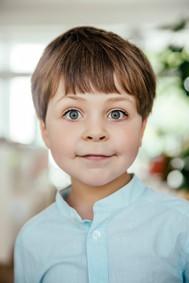 Boy with big eyes