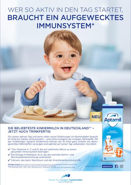 Client: Danone Aptamil, Agency: Change Communication GmbH