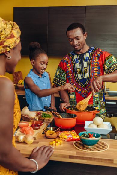 Maggi Naija Pot for Nestlé (Annual Report 2018)