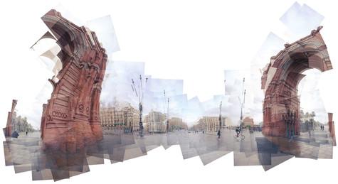 2010, Arc de Triomf, Barcelona
