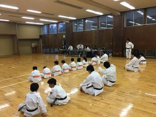 昇級審査2018-7-14