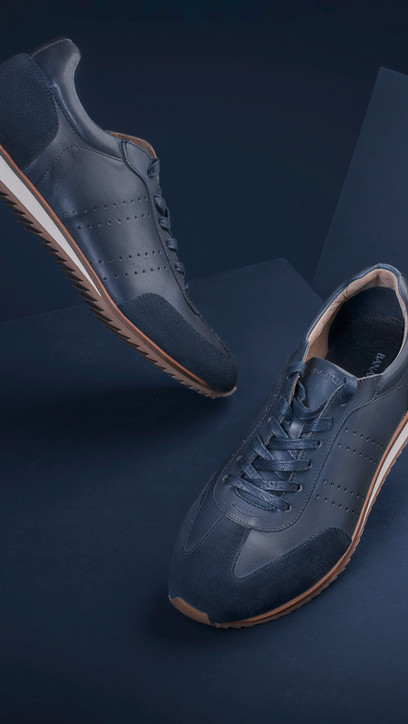 Banana Republic shoes commercial shot by
