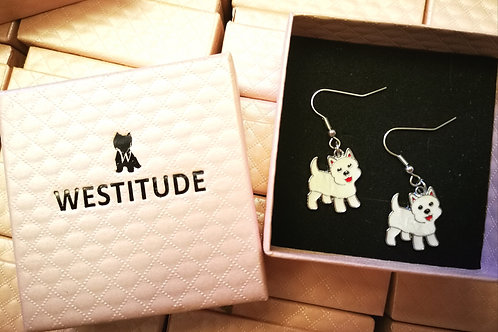 WESTIE LIM WESTITUDE EARRINGS