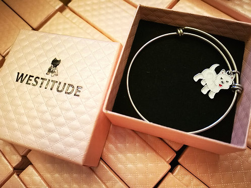 WESTIE LIM WESTITUDE BANGLE