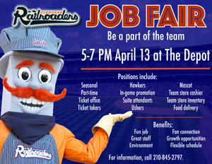 Work for the Cleburne Railroaders!