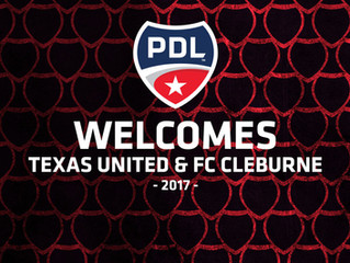 Cleburne to become a two sport town; Soccer added to The Depot mix
