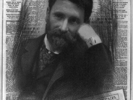 Joseph Pulitzer, Today's New Yorker Birthday:  Innovative Publisher & Founder of the Pulitzer Prize.