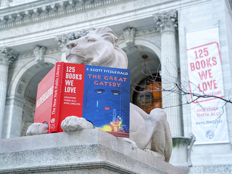 Happy Birthday to Patience and Fortitude, the Lions in front of the NY Public Library!
