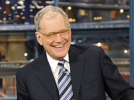 Our April 12 New Yorker of the Day is Talk Show Host David Letterman